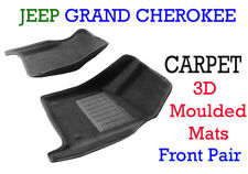 3D Front Moulded Carpet Car Floor Mats for Jeep Grand Cherokee   2011 onw.