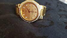 Damenarmbanduhr Baume & Mercie Riviera 18K /750er gold u. Diamanten/Brillianten