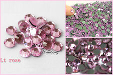 1400 STRASS TERMOADESIVI ROSA LT. ROSE SS10/3MM DMC MC QUALITY HOTFIX RHINESTONE