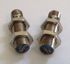 2 Wenglor Flush Inductive Proximity Switches IB040BM46VB3 10-30VDC 4mm