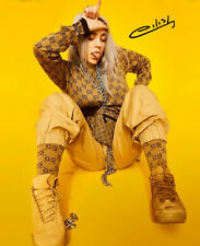 * BILLIE EILISH SIGNED POSTER PHOTO 8X10 RP HOODIE AUTOGRAPHED PICTURE
