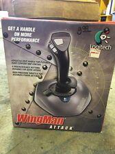 Vintage Logitech Wingman Attack Throttle / Joystick (New)