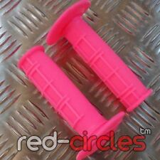 HOT PINK MX MOTOCROSS SOFT WAFFLE GRIPS fits RM 65 85 125 250