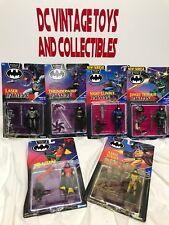 Vintage BATMAN/ROBIN kenner Batman Returns COLLECTION Lot Of 6 Figures
