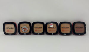 L'Oreal Infallible Pro-Glow Long Wear Foundation Powder YOU CHOOSE New