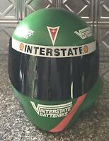 1997 INTERSTATE BATTERIES DISPLAY HELMET JOE GIBBS RACING BOBBY LABONTE NASCAR