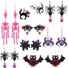 Zest 100 Halloween Themed Earrings in Assorted Designs