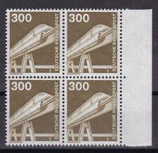 BRD 1982 postfrisch Industrie und Technik 4er Block Seitenrand rechts MiNr. 1138