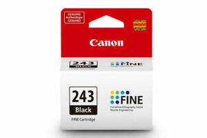 Flash Sale Canon PG-243 Black Ink Cartridge, Genuine, New-in-Box