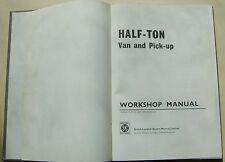 Austin BMC media tonelada van & Recoger Original Manual de taller (A55) a 3605 1970