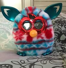 2012 Hasbro Furby: BOOM Christmas Festive Holiday Sweater Metallic
