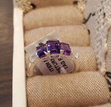 Not Enhanced Topaz Sterling Silver Fine Rings