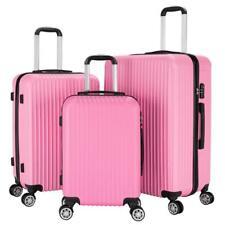 Set of 3 Travel Luggage Set Soft Suitcase Bag Trolley 20
