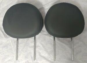 10 Mini Cooper Dark Gray Front Seat Headrests