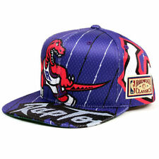 Торонто Рэпторс повсюду логотип баскетбол НБА Mitchell Ness порвать кепка