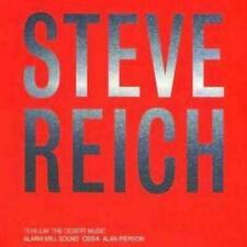 Steve Reich : Tehillim, the Desert Music CD (2002) like new