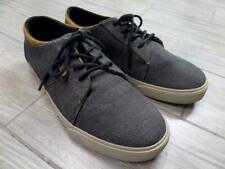 REEF skate shoes RIDGE TX gray hemp 10 canvas