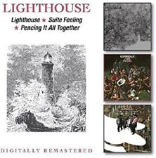 LIGHTHOUSE - LIGHTHOUSE/SUITE FELLING/PEACHING IT ALL TOGETHER  2 CD NEUF