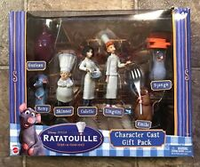 Disney Pixar Ratatouille Character Cast Gift Pack Toy 7 Figures Brand New In Box
