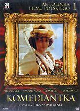 Komediantka (DVD) Jerzy Sztwiertnia (Shipping Wordwide) Polish film