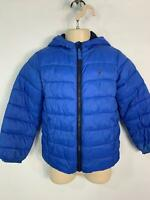 BOYS JOULES BLUE LIGHT WEIGHT CASUAL HOOD RAINCOAT JACKET KIDS AGE 6 YEARS SMALL