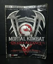 Mortal Kombat: Deadly Alliance: Official Strategy Guide