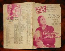 Calendario Portafortuna 1932  (R637) ^