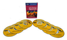 Learn to Speak Spanish Language (8 Audio CD Set w/Phrasebook) listen in your car