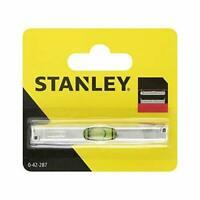 Stanley Line Pocket Spirit Level 0-42-287 Small Mini Bubble Bricklayers mini