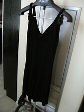 Vintage (1990s) Betsey Johnson Black Stretch Dress (Size 6) + BONUS PM Bag