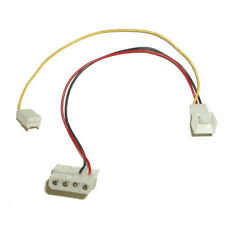 Power cable adapter 4 pin to 3 pin Fan cable with RPM sensor connector