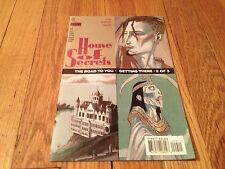 HOUSE OF SECRETS #9 1997 Horror Comic Book STEVEN T. SEAGLE Teddy Kristiansen