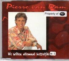 (BC156) Pierre van Dam, We willen allemaal het- 1996 CD