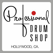 Drummers - 'Professional Drum shop type 'decal' - 2 copies - ' Peel off/stick '.