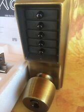 NEW KABA Ilco 1021B0541 Antique Brass Mechanical Pushbutton Security Lock NIB