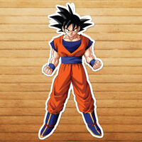 Goku Stance Ball Saiyan Dragon Son Anime Car Die Cut Window Vinyl Decal Sticker