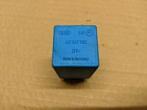 AUDI 100 80 B3 B4 COUPE CABRIOLET 7 PIN RELAY BLUE 447947115C