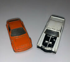 2-Hot Wheels: 1-VW SP2 and 1-1970 Buick GSX made in Malaysia