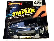Arrow Office Stapler Tacker Jam Proof All Steel Model 107 USA Made