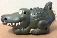 The Crocodile Hunter Game Agro motorized Croc works Battery powered figure toy