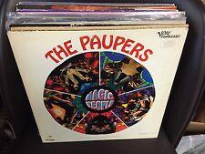 The PAUPERS Magic People vinyl LP 1967 VERVE Forecast Tan Label MONO