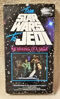 FROM STAR WARS TO JEDI - The Making of a Saga VHS Video Tape 1983 Mark Hamill