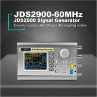 JDS2900-60MHz Digital Control Dual-channel DDS Function Signal Generator Meter L