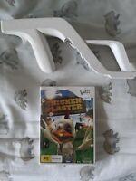 Nintendo Wii Chicken Blaster Game And Gun