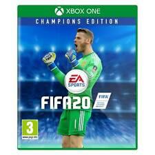 FIFA 19 FIFA 20 Game For XBOX ONE Cover Art Box Art Disc Case, De Gea Man Utd