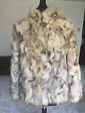 Blue Fox Womens Fur Coat