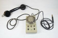 Vintage Collectible 1984 Cold War BELL SYSTEM Rotary Dial Wall Mount Phone Retro