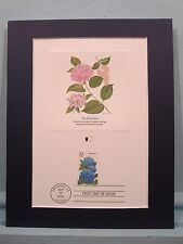 Honoring Flowers - The First Day Cover of the Hydrangea Flower Stamp