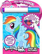 My Little Pony Imagine Ink Book Bendon 24 Pages of Games and Activity Kids Book