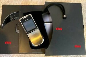 NOKIA 8800 Sirocco Phone - Excellent Condition Fully Boxed Collectable Classic